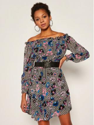 Guess Koktejlové šaty Hannah W0YK95 W8SL2 Barevná Regular Fit dámské XS