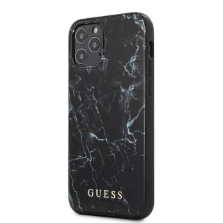 Guess Marble Zadní kryt GUHCP12LPCUMABK Apple iPhone 12 Pro Max black