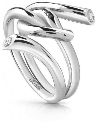 Guess Módní prsten s uzlem UBR29000 52 mm dámské