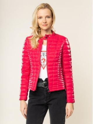 Guess Vatovaná bunda Vona W01L91 WCOF0 Růžová Slim Fit dámské XS