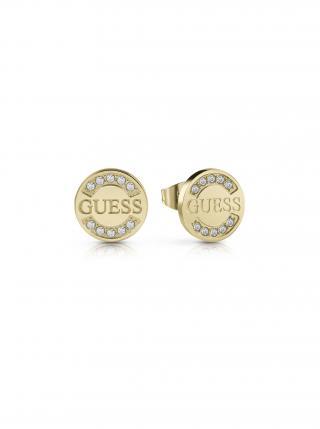 Guess zlaté náušnice Uptown chic dámské zlatá ONE SIZE