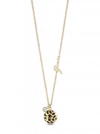 Guess zlatý náhrdelník Curve X dámské zlatá ONE SIZE