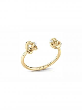 Guess zlatý náramek Knot dámské zlatá L