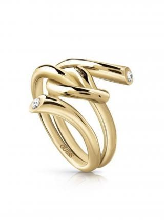 Guess zlatý prsten Knot dámské zlatá S