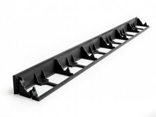 Gutta Guttagarden neviditelný obrubník 4,5 x 100 cm černá