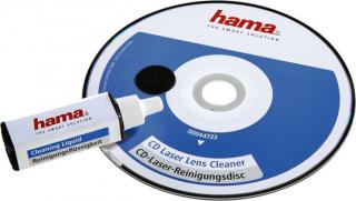 Hama CD Laser Lens Cleaner with Cleaning Fluid