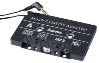 Hama MP3/CD Cassette Adapter Black