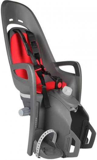 Hamax Zenith Relax Grey Red with Carrier Adapter