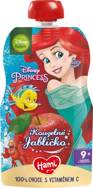 HAMI Disney Princess ovocná kapsička Kouzelné Jablíčko 110 g, 9