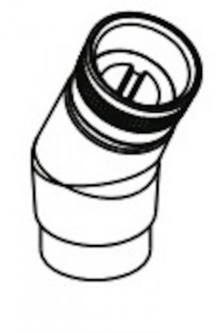 Hansgrohe PŘÍSLUŠENSTVÍ Adaptér 25° pro montáž na okraj vany, chrom - 28071000