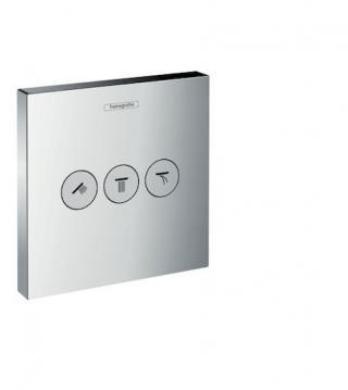 HANSGROHE Shower Select Ventil pod omítku pro 3 spotřebiče, chrom