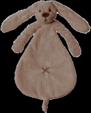 HAPPY HORSE Hnědý králíček Richie Přítulka, 25 cm hnědá