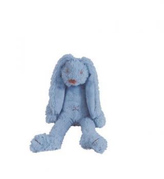 HAPPY HORSE Králíček Richie 28 cm Sytě modrý