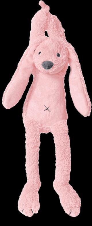 HAPPY HORSE Růžový Králíček Richie Hudební, 34 cm růžová