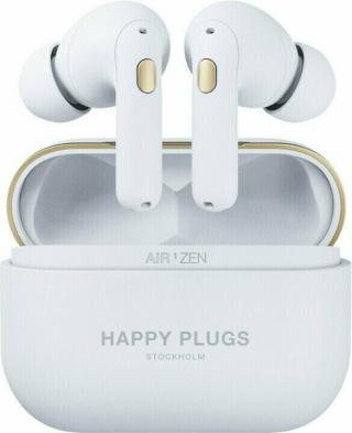 Happy Plugs Air 1 Zen Bílá