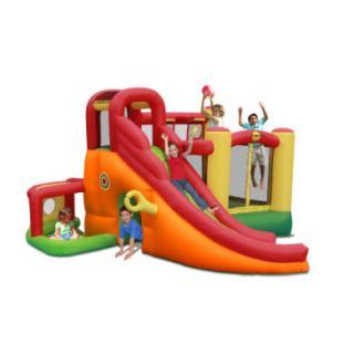 happyhop Bouncy castle - Playcenter 11 v 1 pestrobarevná