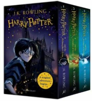 Harry Potter 1-3 Box Set: A Magical Adventure Begins - Joanne K. Rowlingová