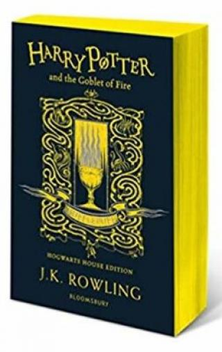 Harry Potter and the Goblet of Fire - Hufflepuff Edition - Joanne K. Rowlingová
