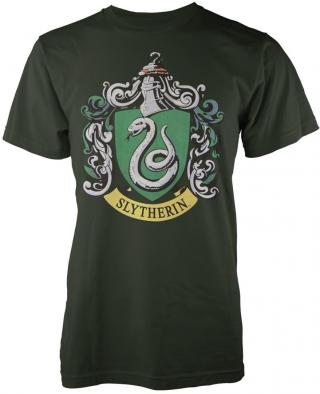 Harry Potter Slytherin T-Shirt L pánské Green L