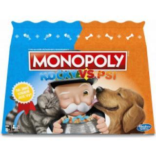 Hasbro Monopoly Kočky a psi CZ/SK