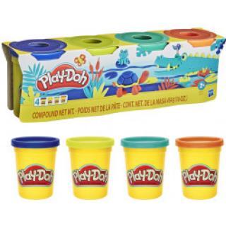 HASBRO Play-Doh balení 4 ks zvířátka