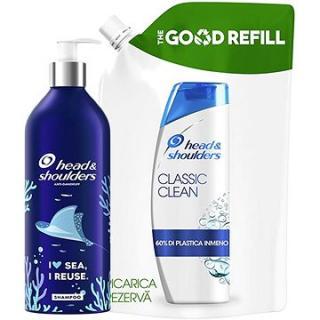 HEAD & SHOULDERS Classic Clean Šampon Proti lupům ECO REUSE hliníková láhev 430 ml   Náhradní náplň