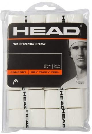 Head Prime Pro 12 pcs Pack Overgrip White
