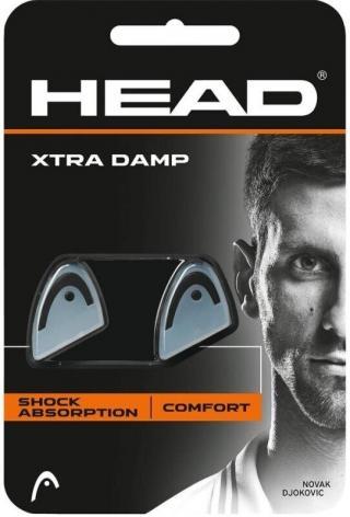 Head Xtra Damp 2 pcs Pack Black