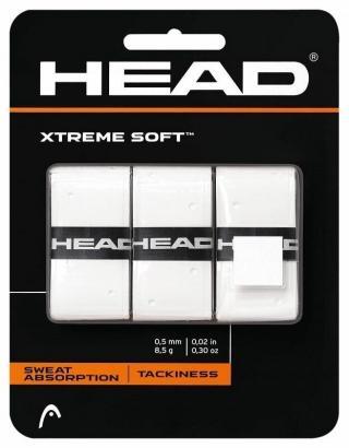 Head XtremeSoft Grip 3 pcs Pack Overgrip White