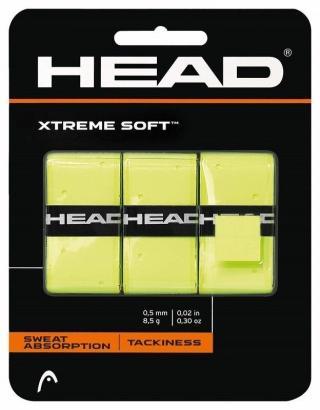 Head XtremeSoft Grip 3 pcs Pack Overgrip Yellow
