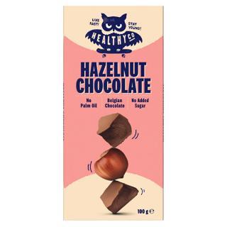 HealthyCo Chocolate 100 g - oříšková