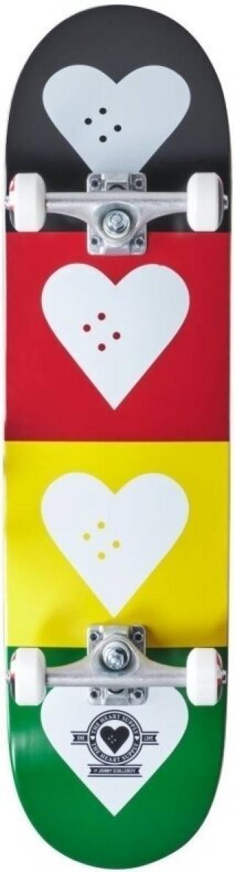 Heart Supply Logo Skateboard Complete 8,25 Quad Black