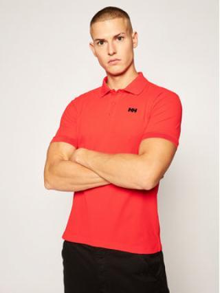 Helly Hansen Funkční tričko Driftline 50584 Červená Fitted Fit pánské S