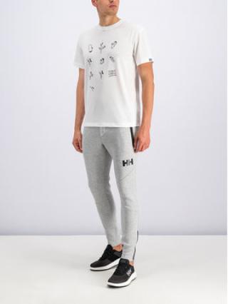 Helly Hansen T-Shirt Skog Graphic 62856 Bílá Regular Fit pánské M