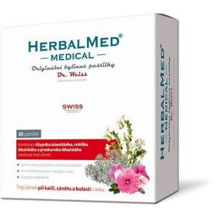 HerbalMed MEDICAL pastilky Dr.Weiss ZP - 20past.