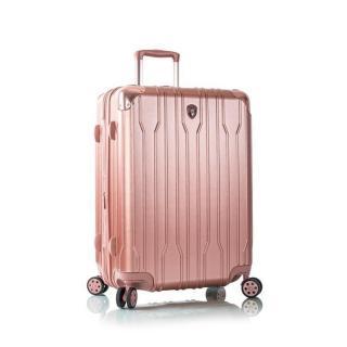 Heys Cestovní kufr Xtrak M Rose Gold 92 l růžová