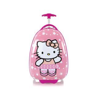 Heys Dětský kabinový cestovní kufr Kids Hello Kitty 3 13 l růžová