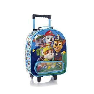 Heys Dětský textilní kabinový kufr Soft Paw Patrol Blue 21 l modrá