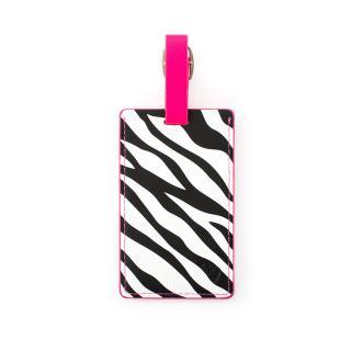 Heys Luggage Tag Zebra bílá