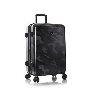 Heys Skořepinový cestovní kufr Black Camo M 87 l černá