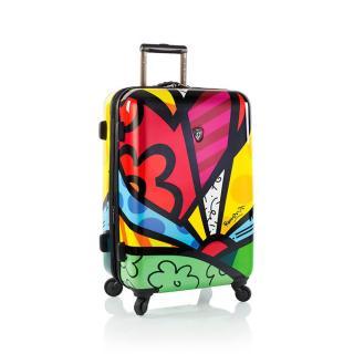 Heys Skořepinový cestovní kufr Britto A New Day M 72 l vícebarevná