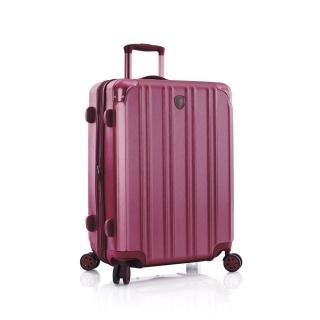 Heys Skořepinový cestovní kufr DuoTrak M Burgundy 93 l růžová