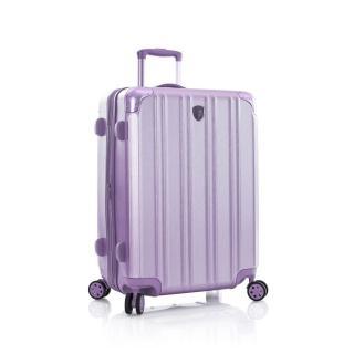 Heys Skořepinový cestovní kufr DuoTrak M Lilac 93 l fialová