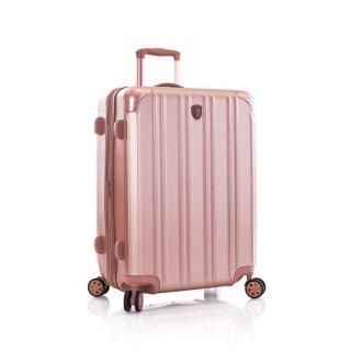 Heys Skořepinový cestovní kufr DuoTrak M Rose Gold 93 l růžová