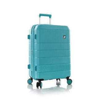 Heys Skořepinový cestovní kufr Neo M Aqua 81 l modrá