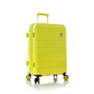 Heys Skořepinový cestovní kufr Neo M Lemon 81 l zelená
