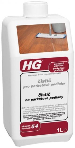 HG Čistič pro parketové podlahy 1l HGCPPP