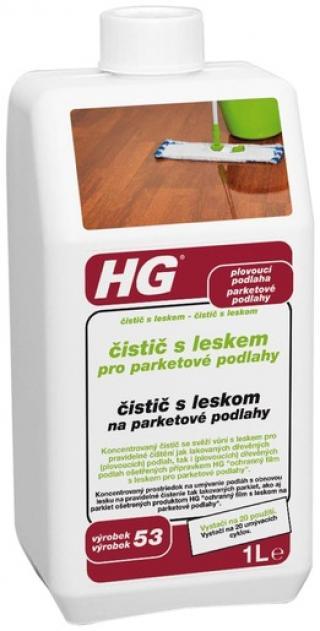 HG Čistič s leskem pro parketové podlahy 1l HGCLPP