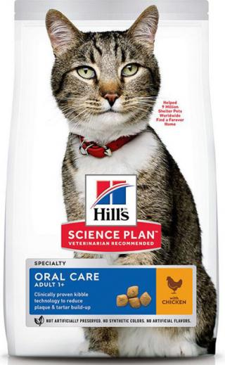 Hill´s Hills Feline SP Adult Oral Care kuře 7kg
