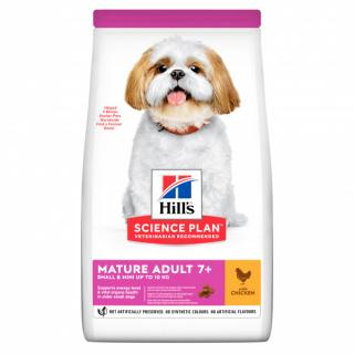 Hill´s science plan canine mature adult 7  small & mini chicken 6kg